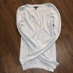 Light gray Express sweater